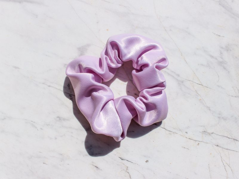 Cotton Candy Scrunchie