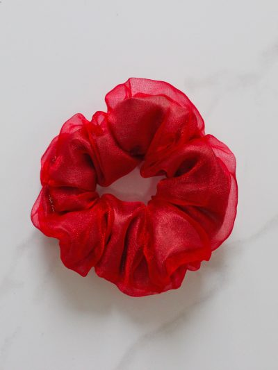 Ruby Scrunchie
